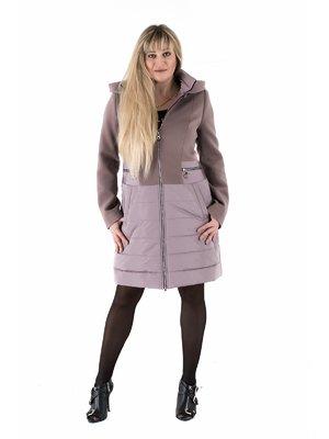Пальто темно-бежевое | 3891649