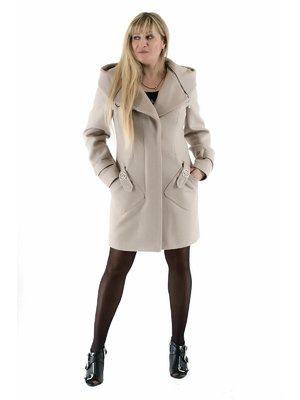 Пальто бежевое | 3891652