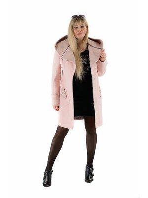 Пальто цвета пудры | 3891655