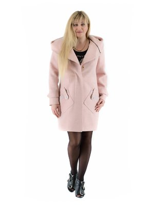 Пальто кольору пудри   3891658