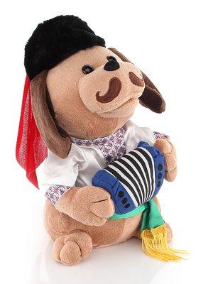 Співоча собачка «Ловелас в вишиванці» | 3861666