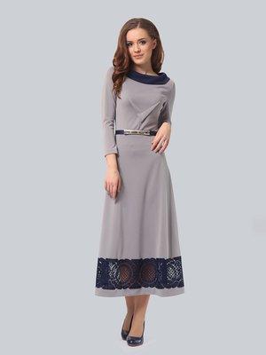 Платье светло-серое | 3891860