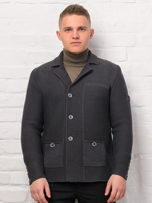 Пиджак антрацитового цвета | 3892342
