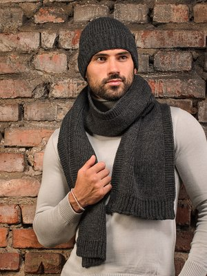 Комплект: шапка и шарф | 3892453