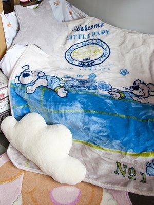 Плед детский в кроватку (100х120 см) | 3893862