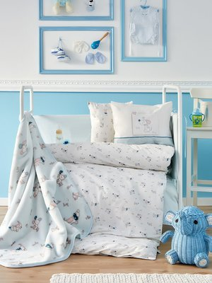 Плед детский в кроватку (100х120 см) | 3893879