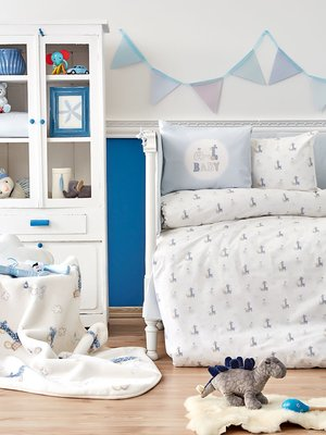 Плед детский в кроватку (100х120 см) | 3893880