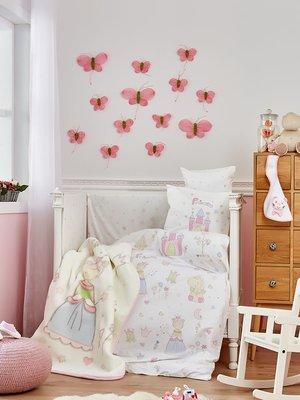 Плед детский в кроватку (100х120 см) | 3893882
