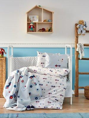 Плед детский в кроватку (100х120 см) | 3893883