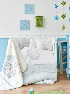 Плед детский в кроватку (100х120 см) | 3893884