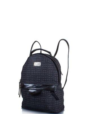 Сумка-рюкзак черно-серая | 3895354
