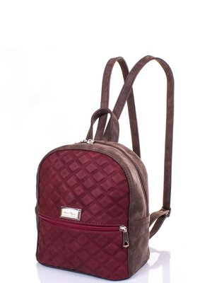 Рюкзак коричнево-бордовий | 3895594