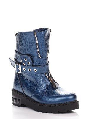 Ботинки синие | 3867712