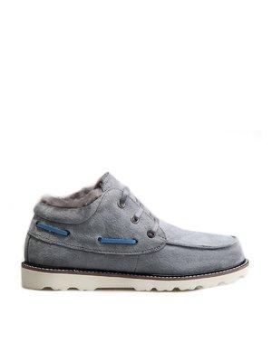 Ботинки серые | 3540537