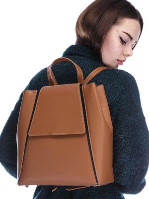 Рюкзак рыжего цвета | 3902015