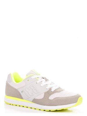 Кроссовки серо-белые | 3901242