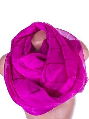 Шарф фиолетовый шифоновый | 3876779