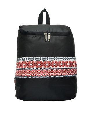 Рюкзак черный с принтом | 3901857