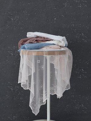 Скатертина біла (145х145 см) | 3900796