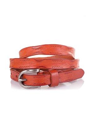Ремень коричнево-оранжевый | 3901382
