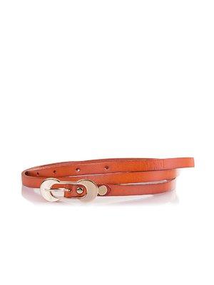 Ремінь коричнево-помаранчевий | 3901430