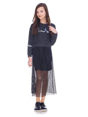 Сукня сіра   3863649