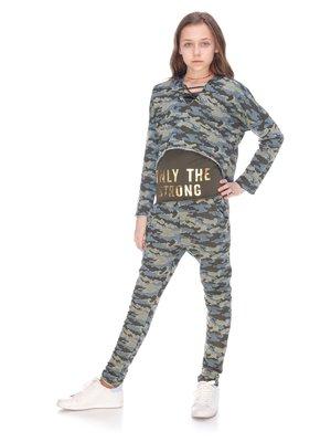 Комплект: майка, толстовка та штани   3857915
