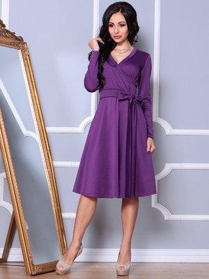Платье темно-фиалкового цвета | 3908201