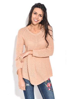Пуловер рожевий | 3909299