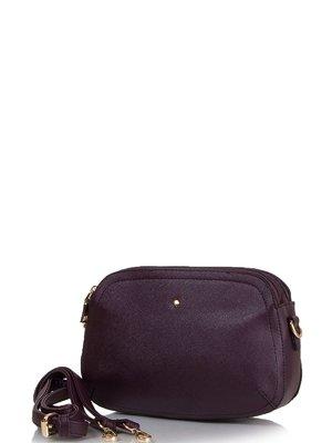 Сумка коричнево-фиолетовая   3909991