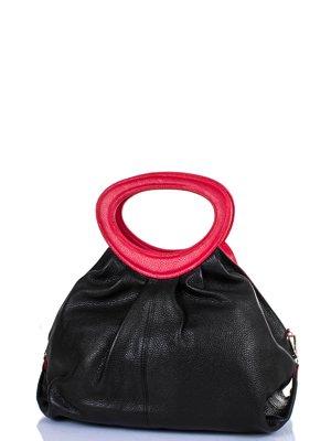 Сумка чорно-червона | 3910011
