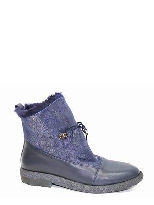 Ботинки синие | 3893395