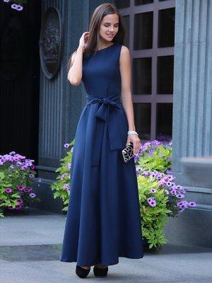 Платье темно-синее | 1850685