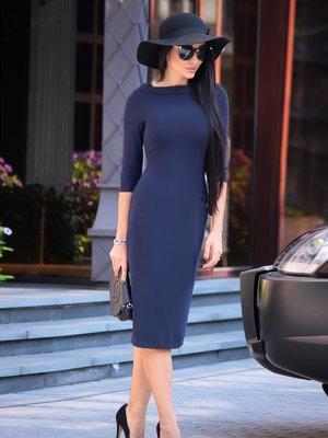 Платье темно-синее | 1850850