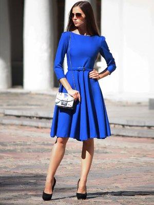 Платье цвета электрик | 1908613