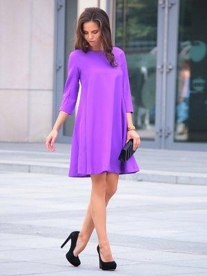 Платье фиалкового цвета | 2056839