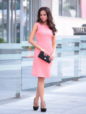 Платье темно-персикового цвета | 2491704