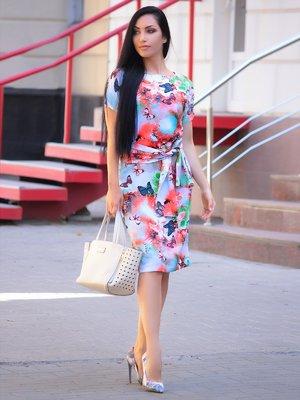 Платье в принт | 3276233