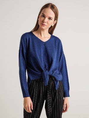 Пуловер синій | 3917816