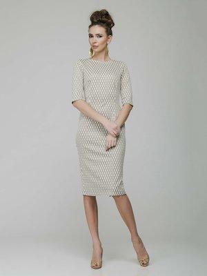 Платье золотисто-молочного цвета - AERIN - 3919121