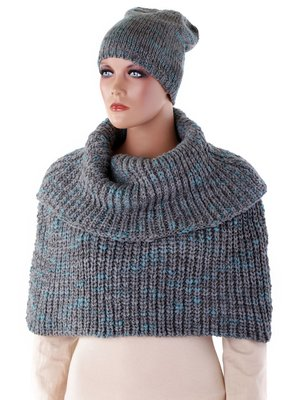 Комплект: шапка і шарф | 3922986