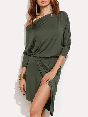 Сукня кольору хакі | 3922038