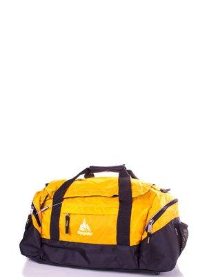 Сумка дорожная желто-черная | 3924228