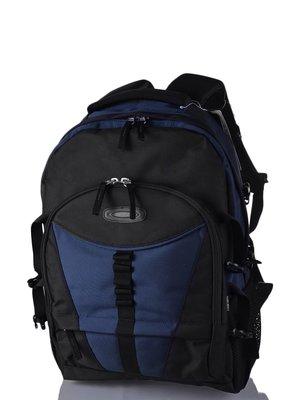 Рюкзак чорно-синій | 3924241