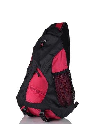 Рюкзак чорно-червоний | 3924243