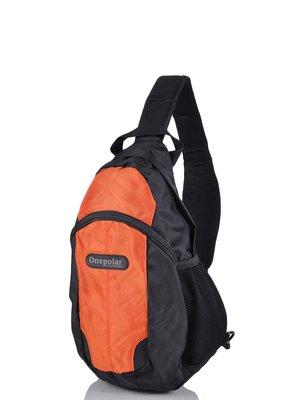 Рюкзак чорно-помаранчевий | 3924273