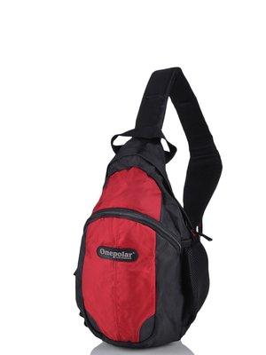 Рюкзак чорно-червоний | 3924276