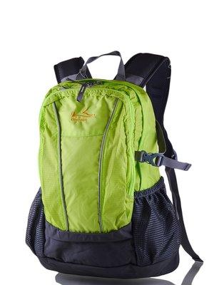Рюкзак чорно-салатовий | 3924338
