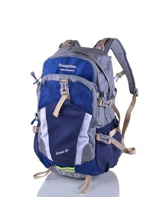 Рюкзак синьо-сірий | 3924344