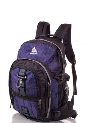 Рюкзак синьо-чорний   3924346
